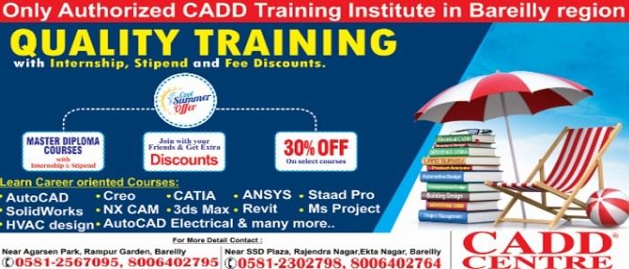 CADD Centre Bareilly :: Best Institute For Design and Fashion